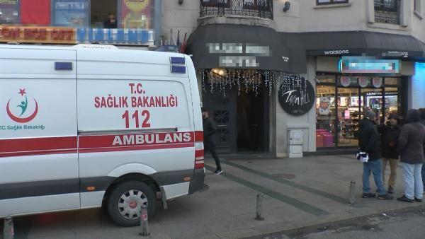 Taksim'de otelde korkunç olay!