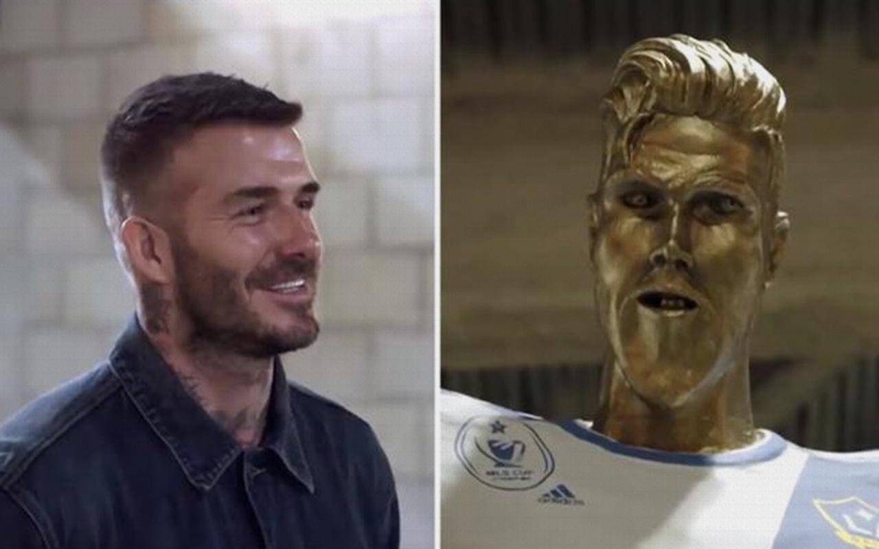 Böyle şaka görülmedi: Beckham ne yapacağını şaşırdı!