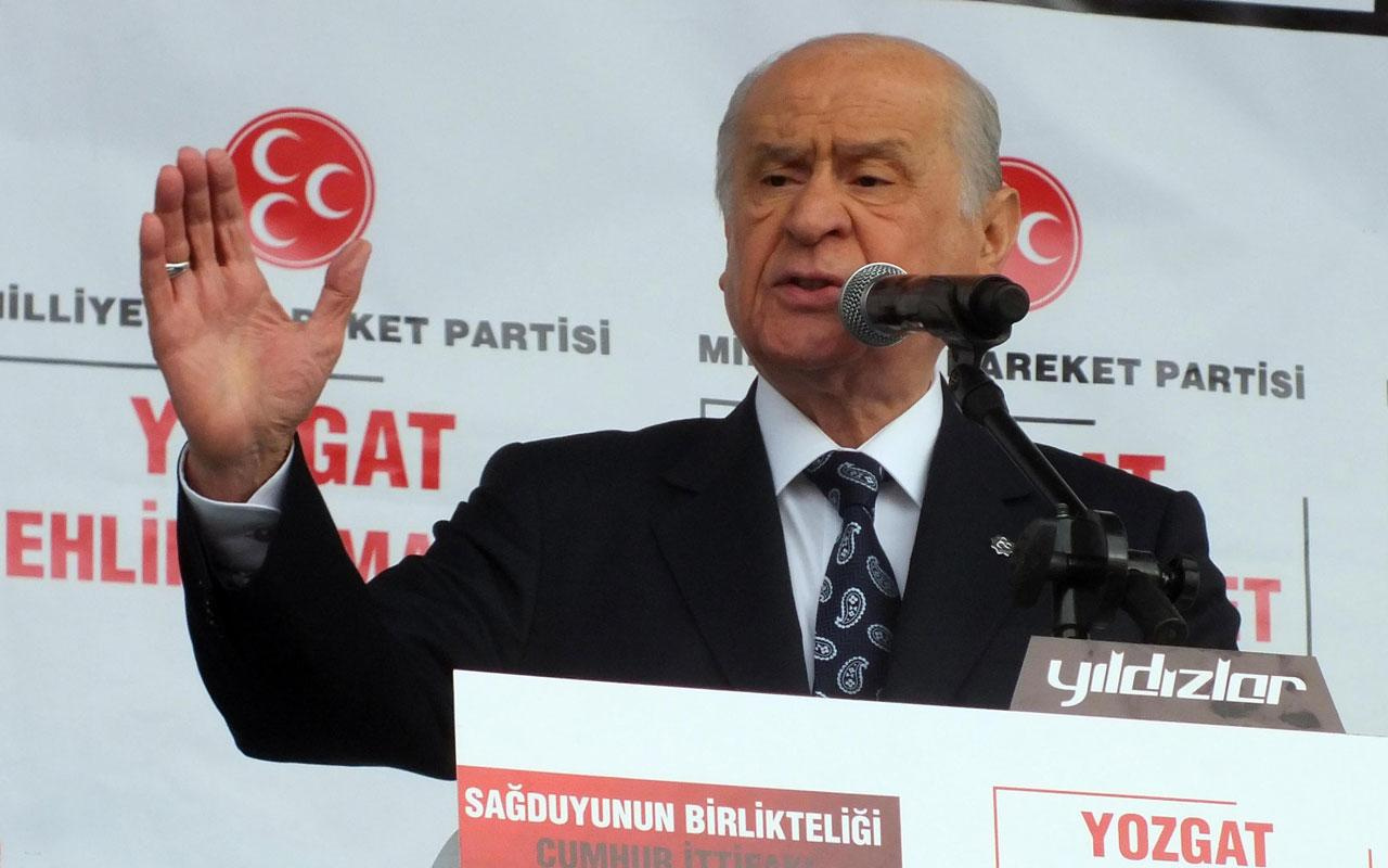 MHP'li lideri Bahçeli'den Hüsamettin Cindoruk'a çok sert tepki