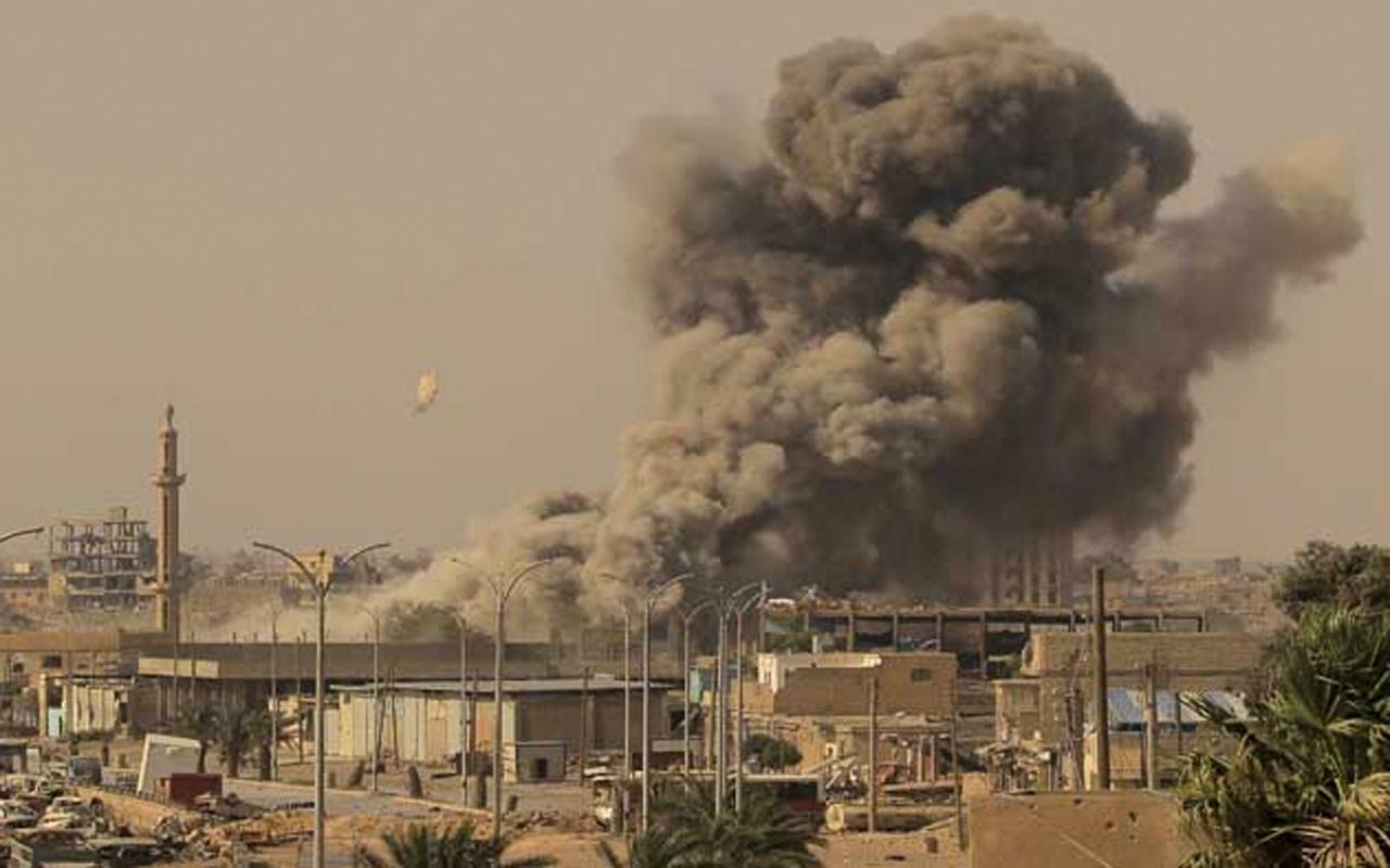 Esad güçleri yasak bomba kullandı