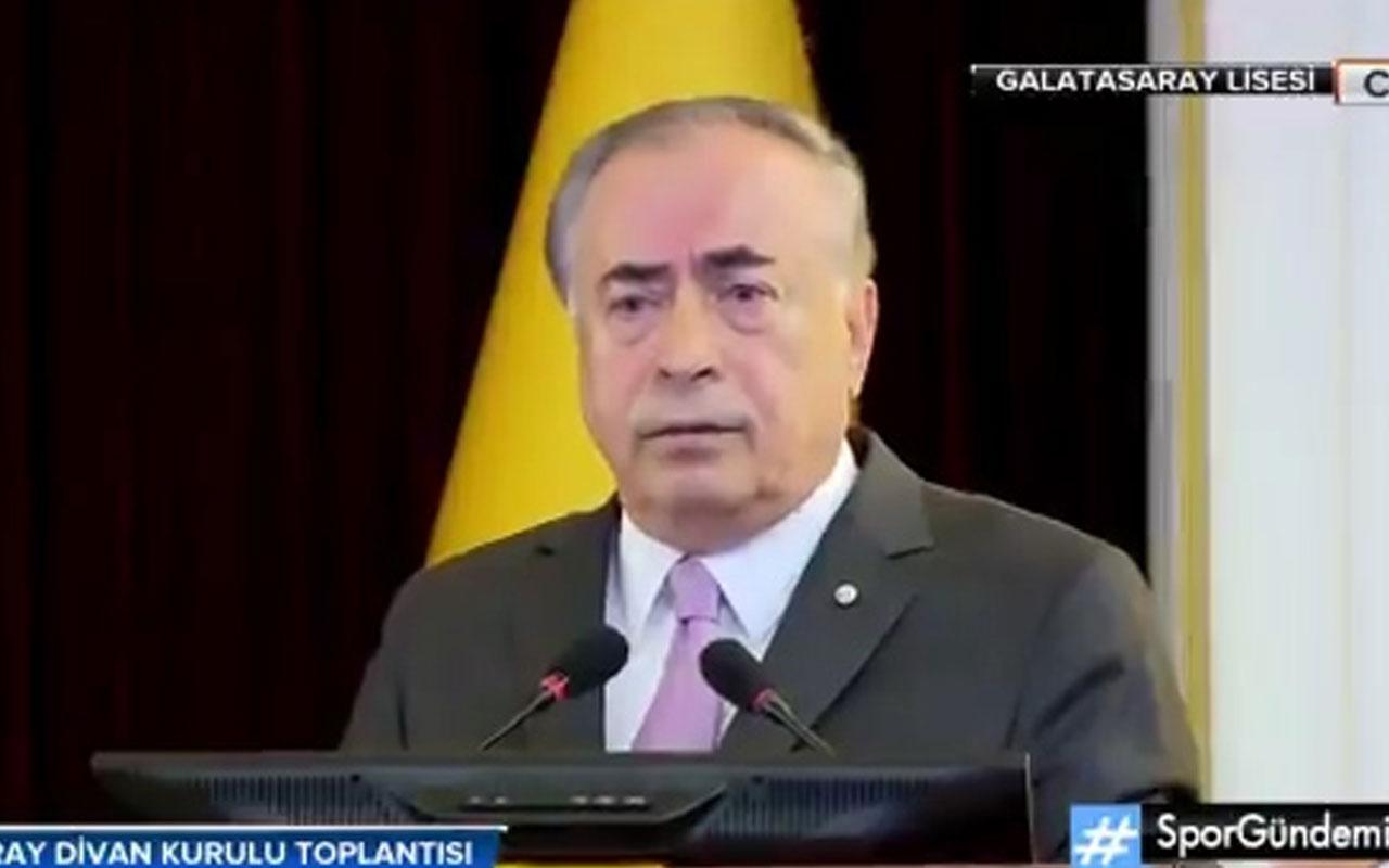 """Galatasaray Başkanı Mustafa Cengiz """"Hiç kimseye köfte demedim"""""""