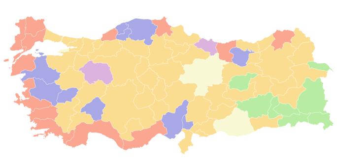 15 ilin anket sonuçlarını EMAX Araştırma açıkladı Diyarbakır, Elazığ, Erzincan, Mardin...