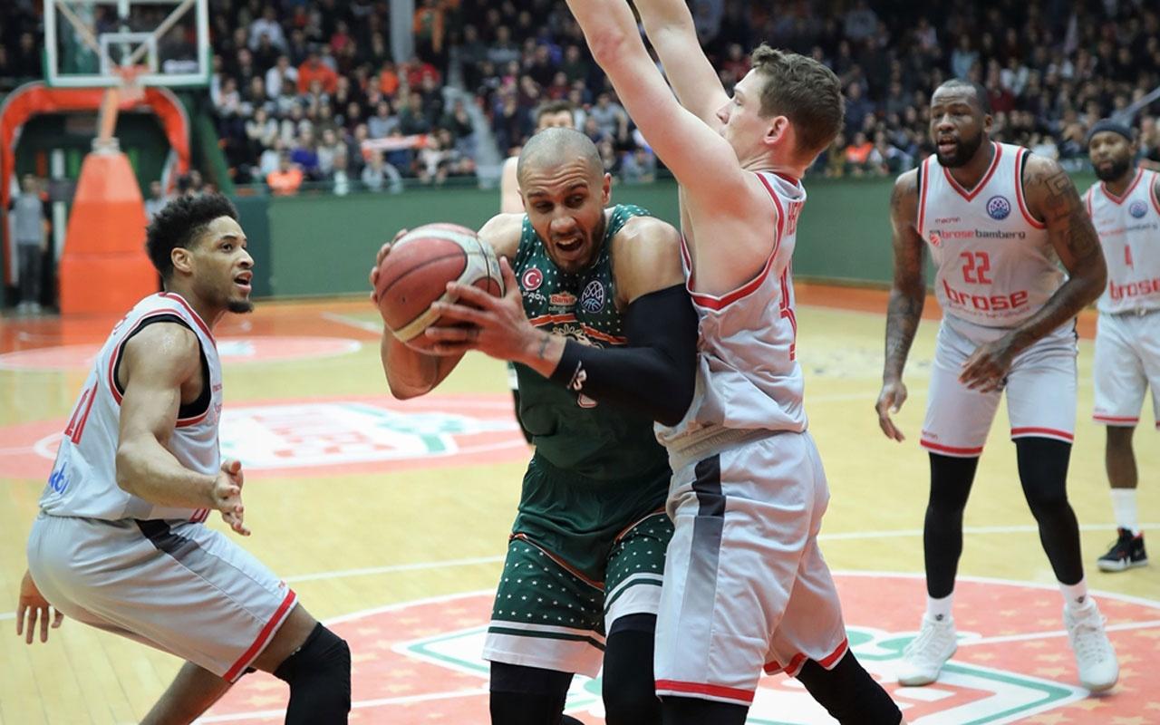 Banvit FIBAŞampiyonlarLigi'ne veda etti