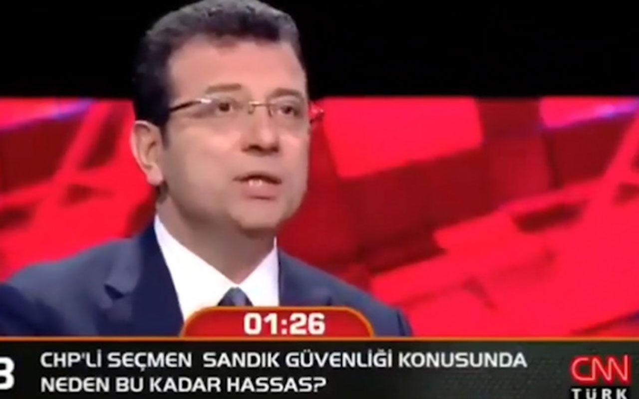 Ekrem İmamoğlu'nun konuşması yarıda kesildi Buket Aydın'dan açıklama geldi