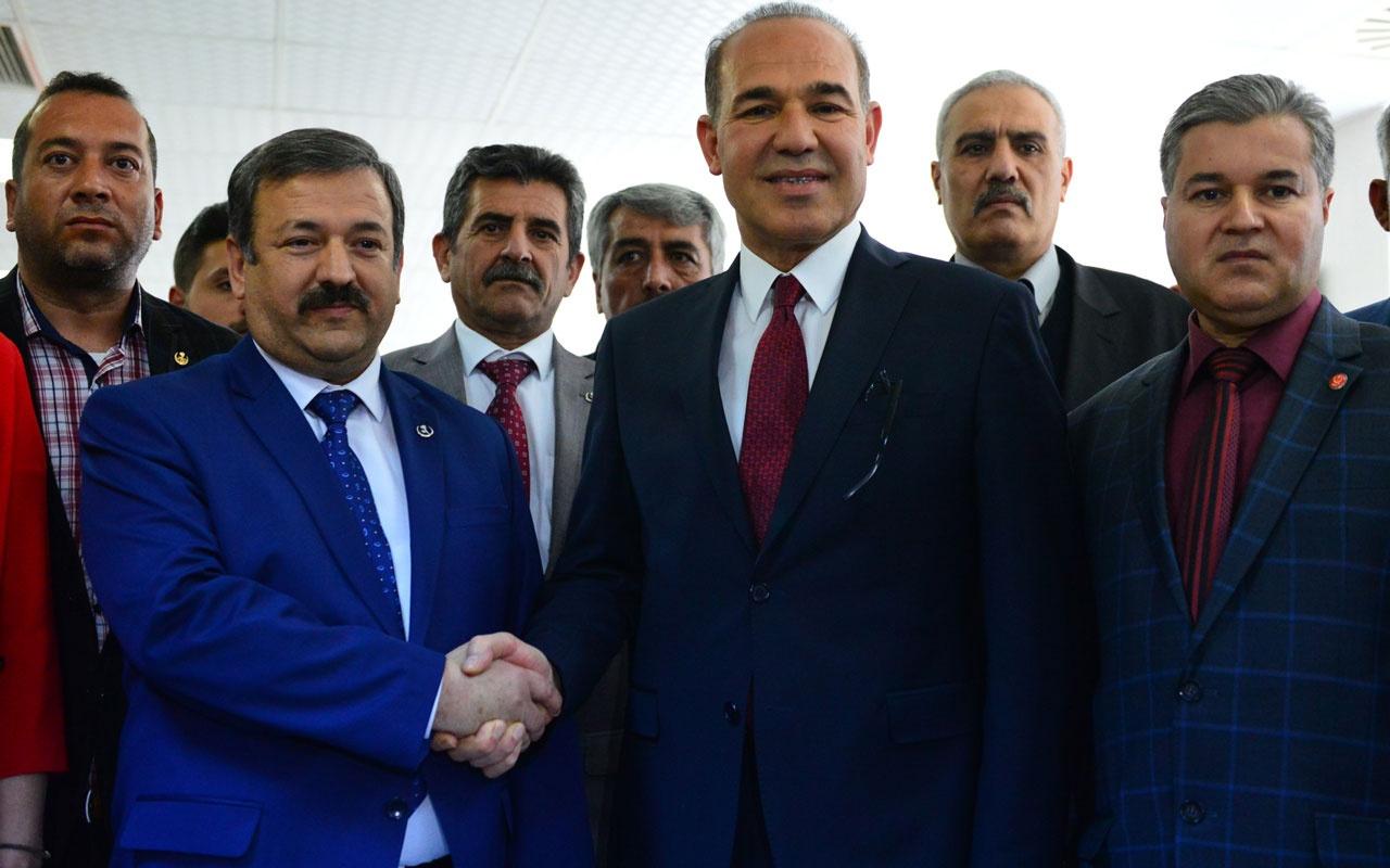 Cumhur ittifakı Adana adayı Hüseyin Sözlü'ye BBP'den destek