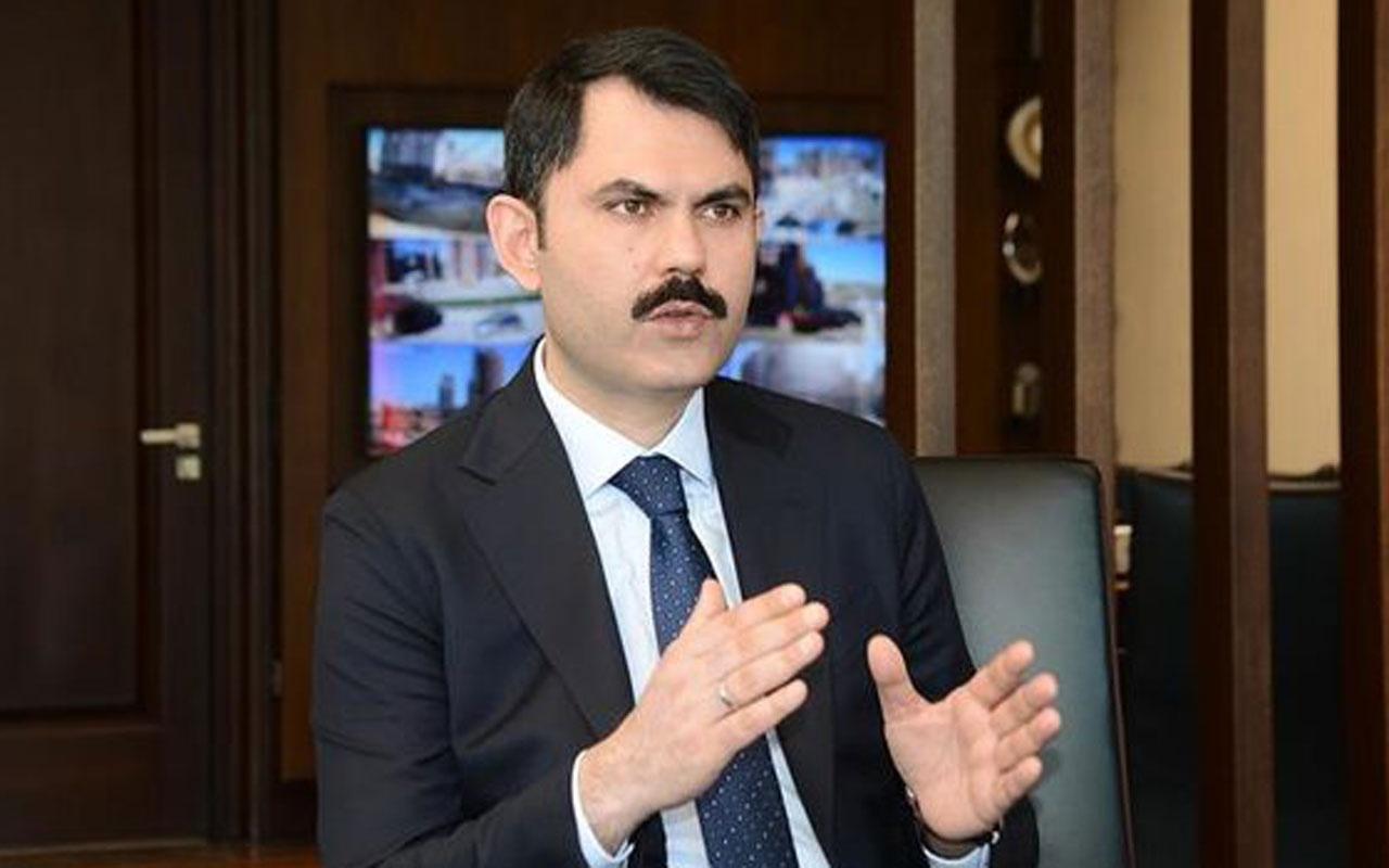 Bakan Murat Kurum: İmar barışına giren yapılar riskli değildir anlamı taşımıyor
