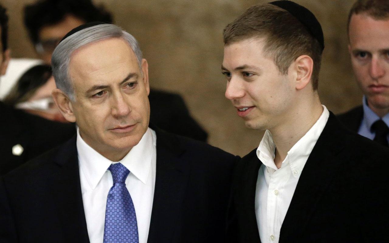 Netanyahu'nun oğlundan küstah sözler