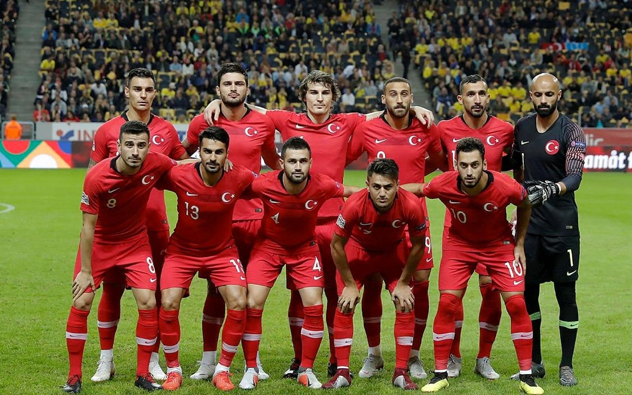 A Milli Futbol Takımı'nın programı belli oldu