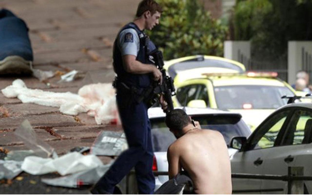 """Yeni Zelanda'daki cami saldırısına dünyadan """"Onlar biziz"""" tepkisi"""