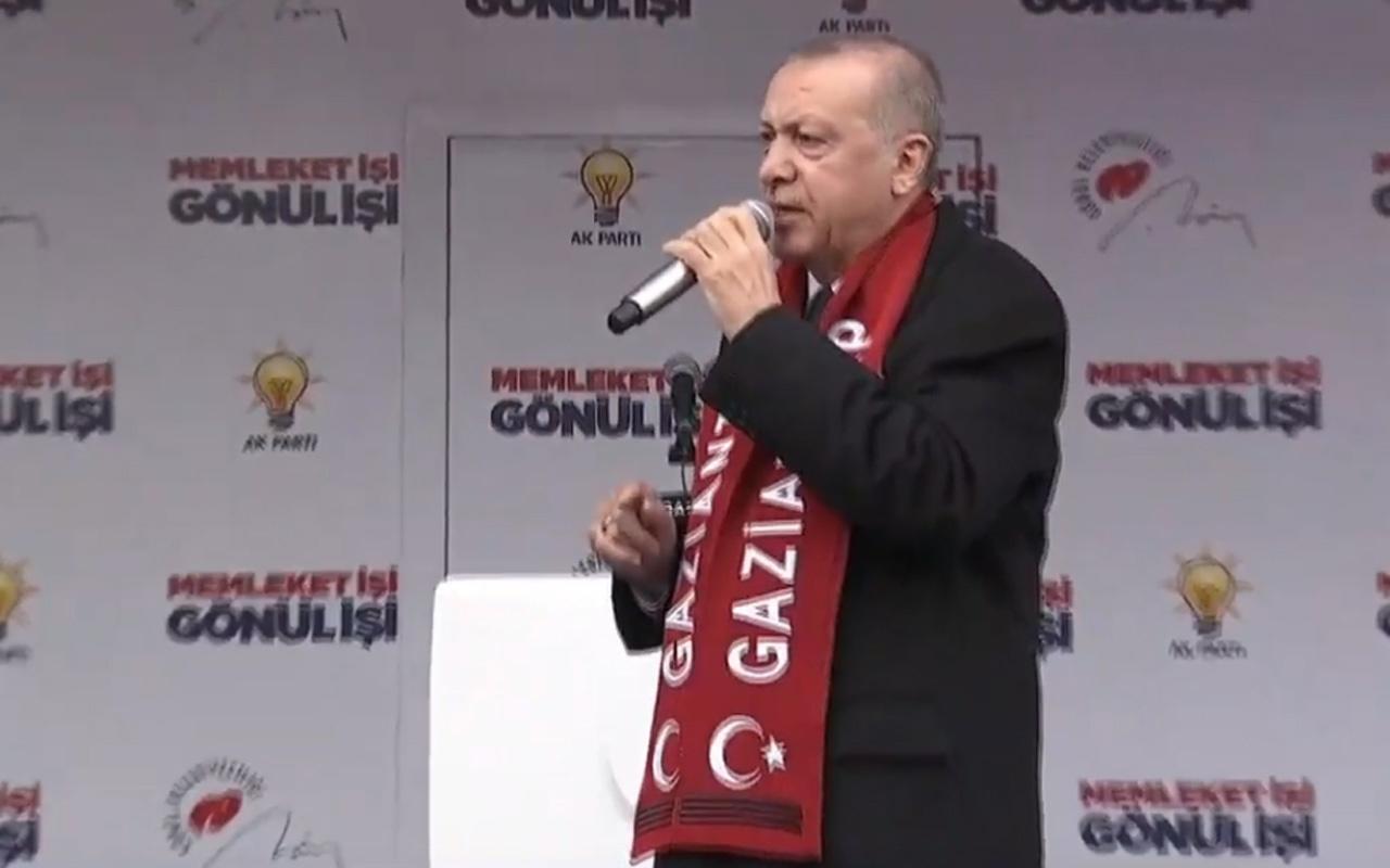 Cumhurbaşkanı Recep Tayyip Erdoğan Gaziantep'e müjdeleri peş peşe verdi