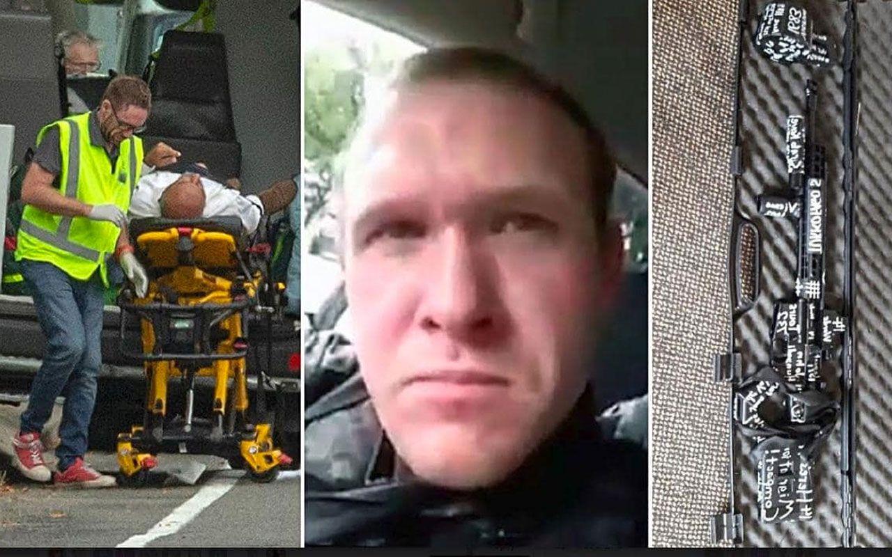 Yeni Zelanda'da camiye saldıran Brenton Tarrant : Türk yiyici tanrı bunu istedi - Sayfa 1