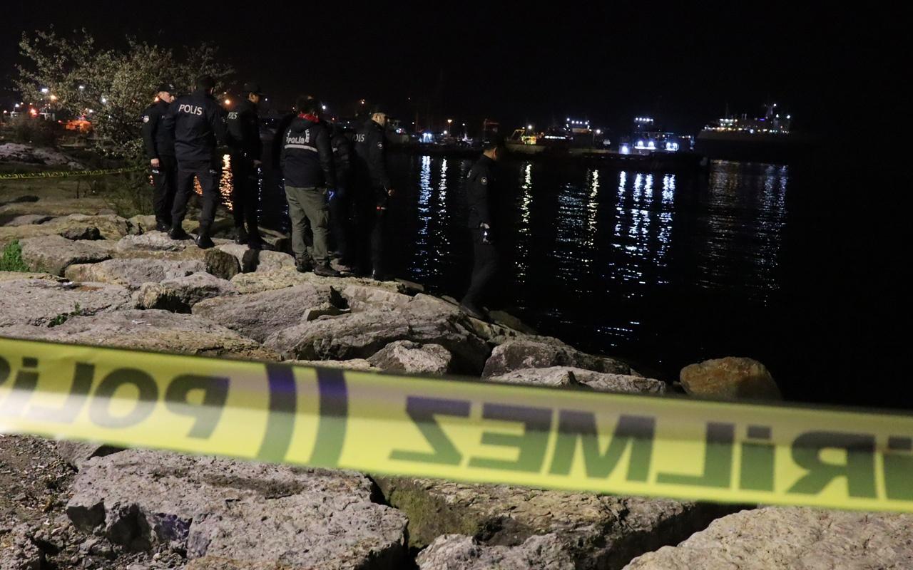 Üsküdar'da denizde erkek cesedi bulundu