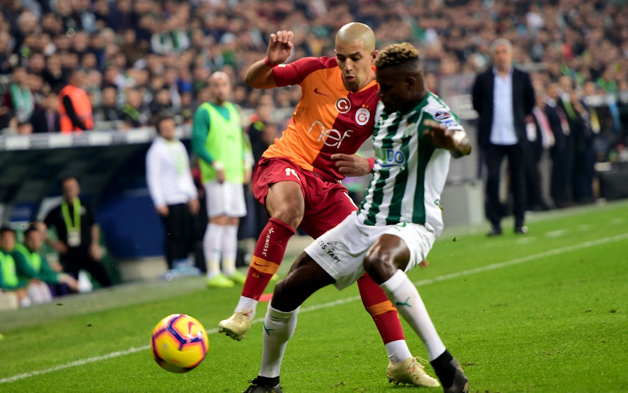 Bursaspor Galatasaray maçı golleri ve geniş özeti