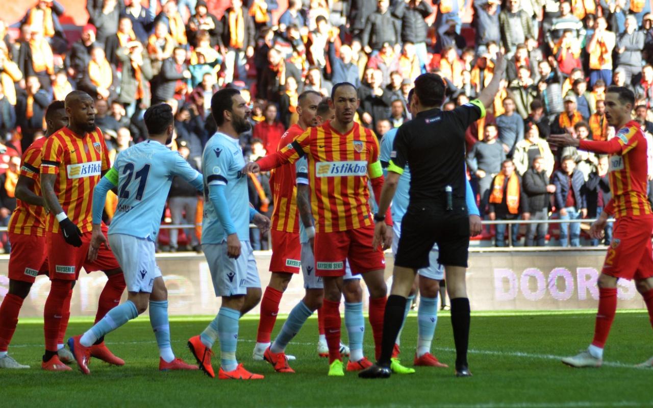 Kayserispor Başakşehir maçı golleri ve geniş özeti