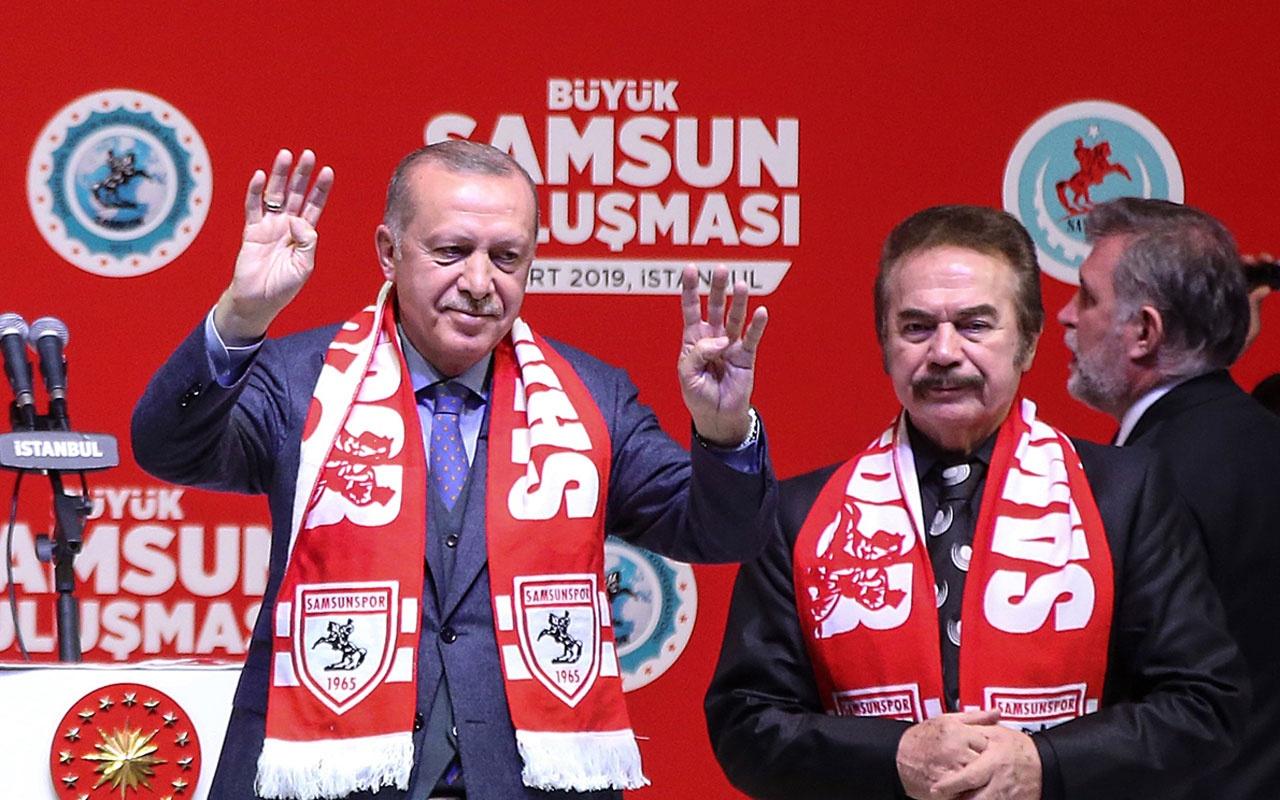Cumhurbaşkanı Erdoğan Orhan Gencebay'ın yeni eserinden muhalefete yüklendi