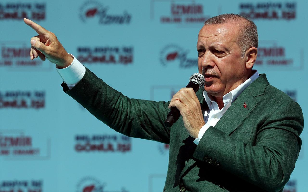 Cumhurbaşkanı Erdoğan'dan Tunç Soyer için sert sözler: Adaylık icazetini Kandil'den almıştır