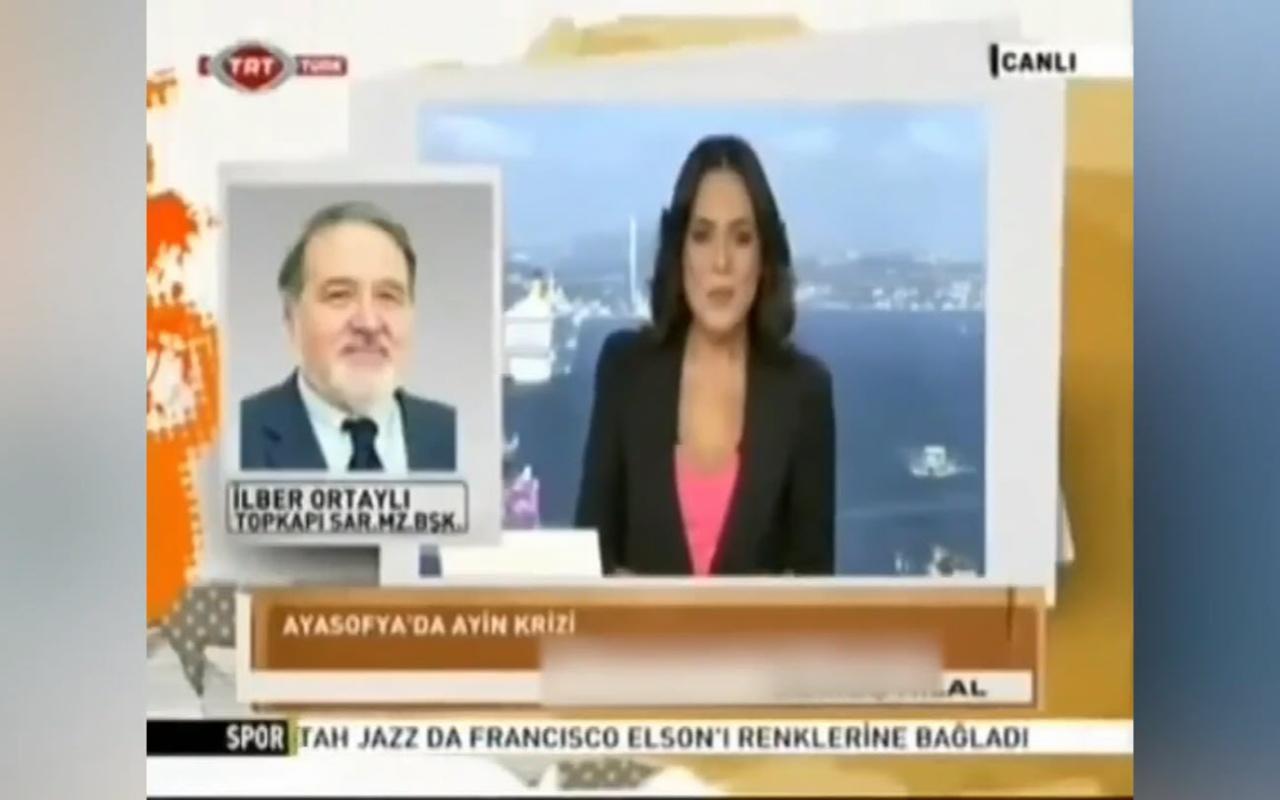 İlber Ortaylı, Kanal D Ana haberin sunucusu Buket Aydın'ı azarladı Sosyal medya yıkıldı