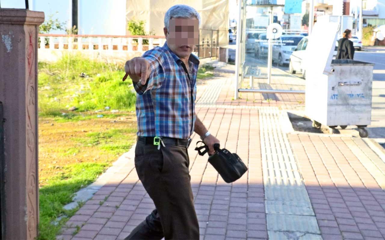 Antalya'da karısı tarafından bıçaklanan adam haber için başlık verdi