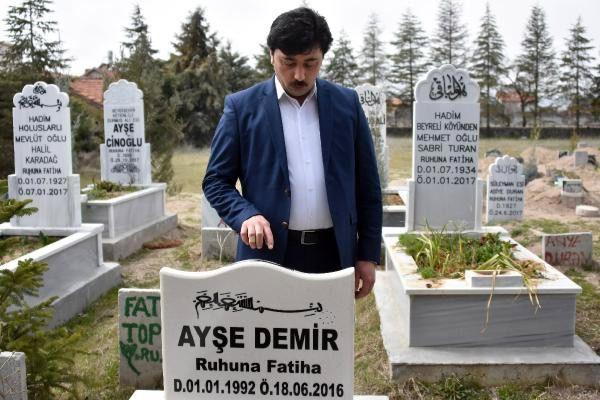 Konya'da ezber bozan mezar taşı! Görenler cep telefonuna kaydediyor - Sayfa 10