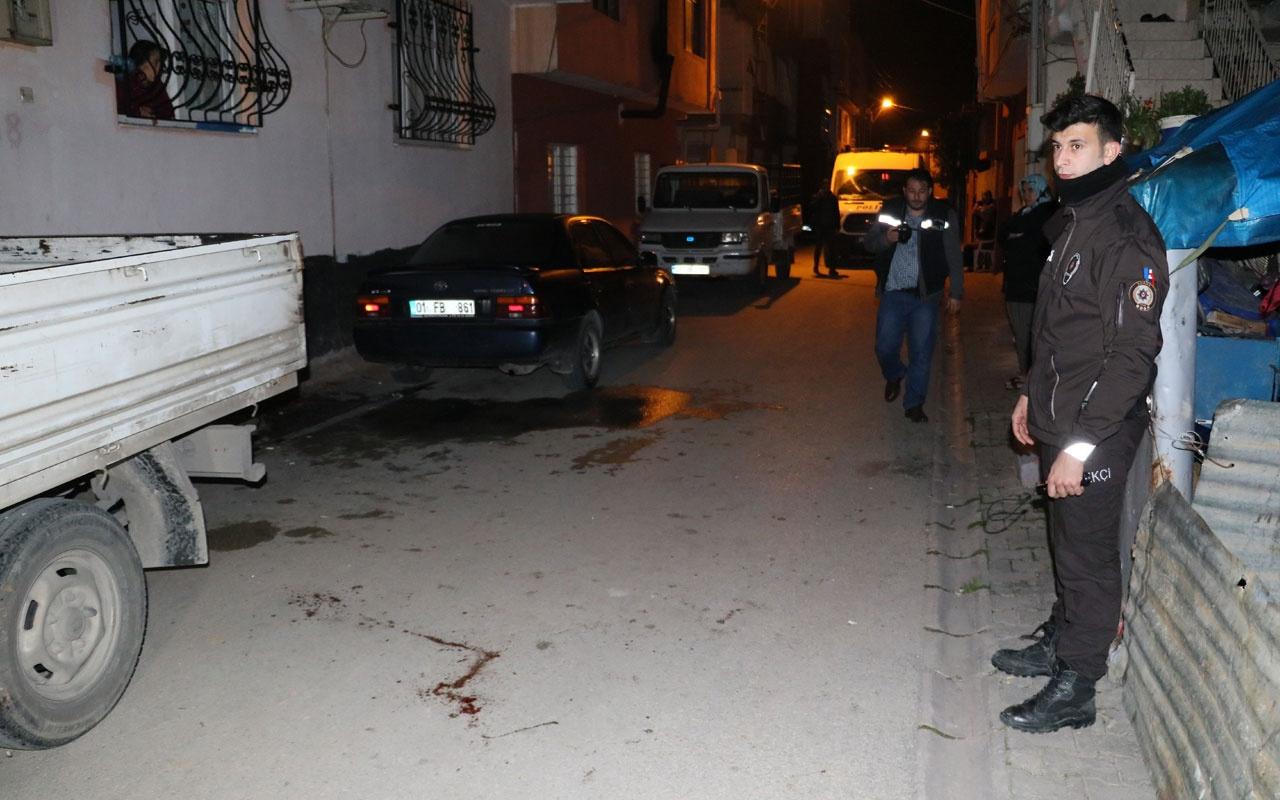 Adana'da korkunç olay! Alkollü şahıs abisini defalarca bıçakladı