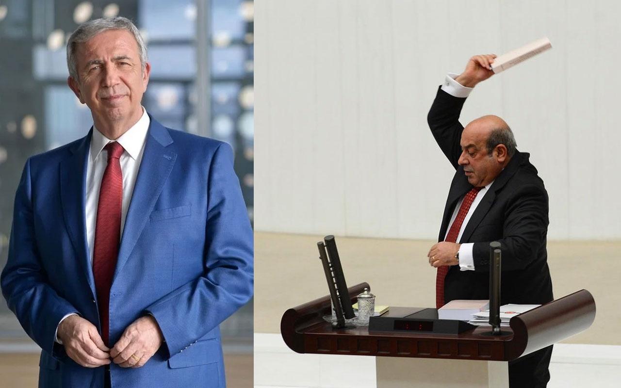Mansur Yavaş'ın sözleri HDP'lileri çıldırttı Hasip Kaplan aleni tehdit etti