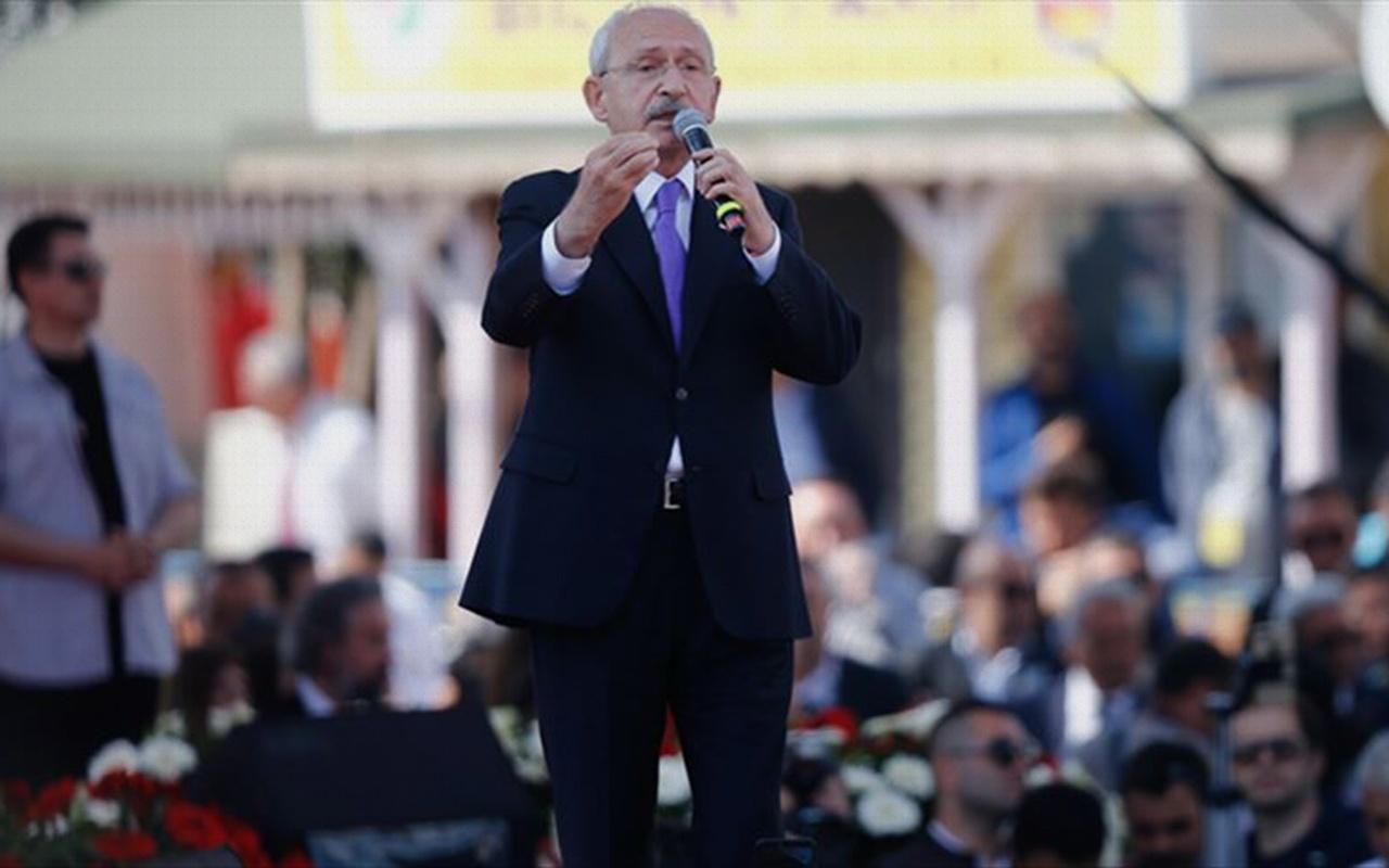 CHP Genel Başkanı Kılıçdaroğlu: Hiç kimsenin önünde diz çökmeyeceğiz