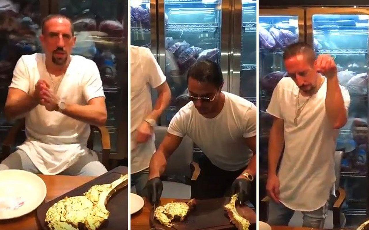 Nusret'in Ribery'e verdiği altınlı etin fiyatı: 9 bin TL