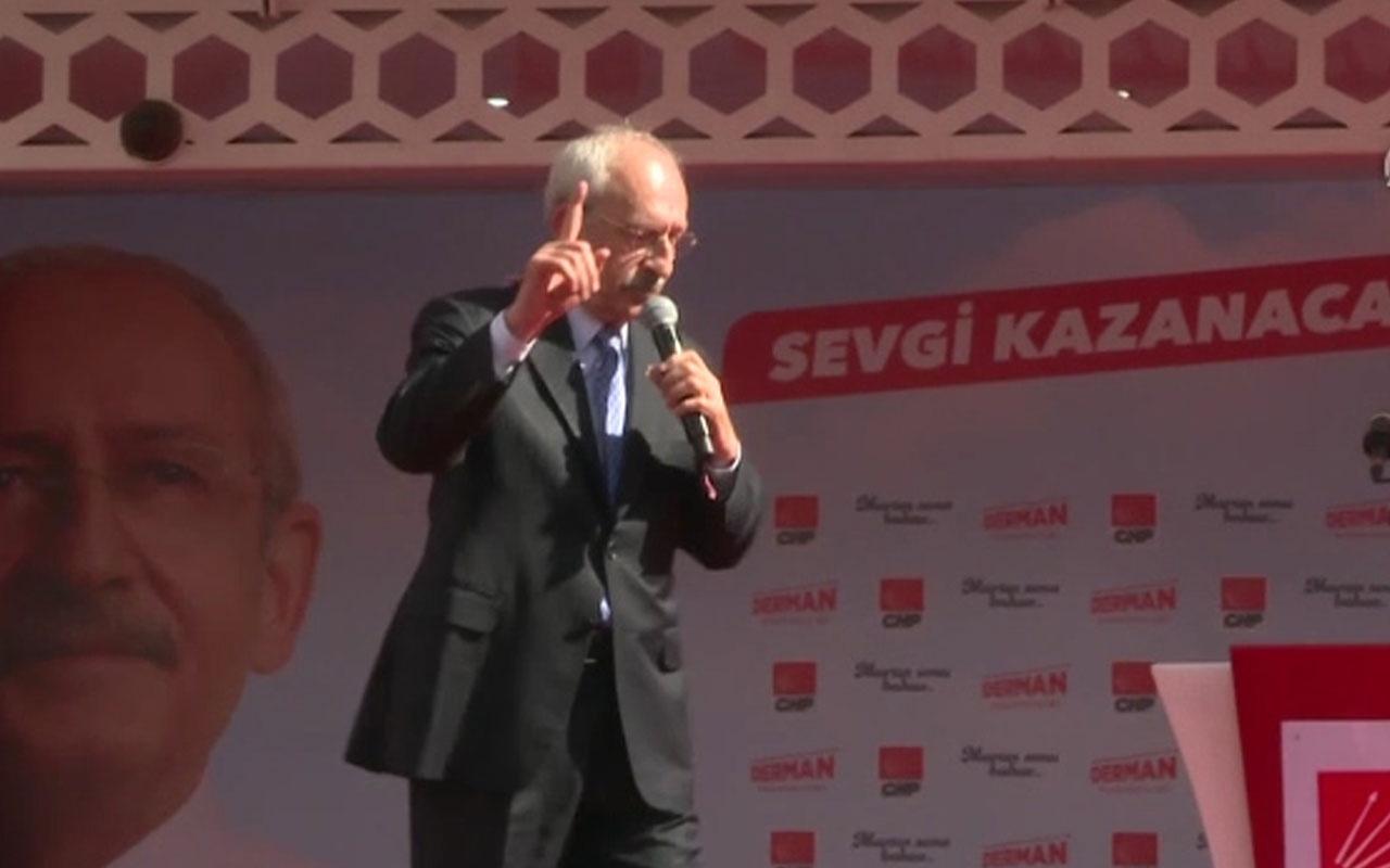 """Kılıçdaroğlu: """"Bir devletin namusu silah fabrikalarıdır"""""""