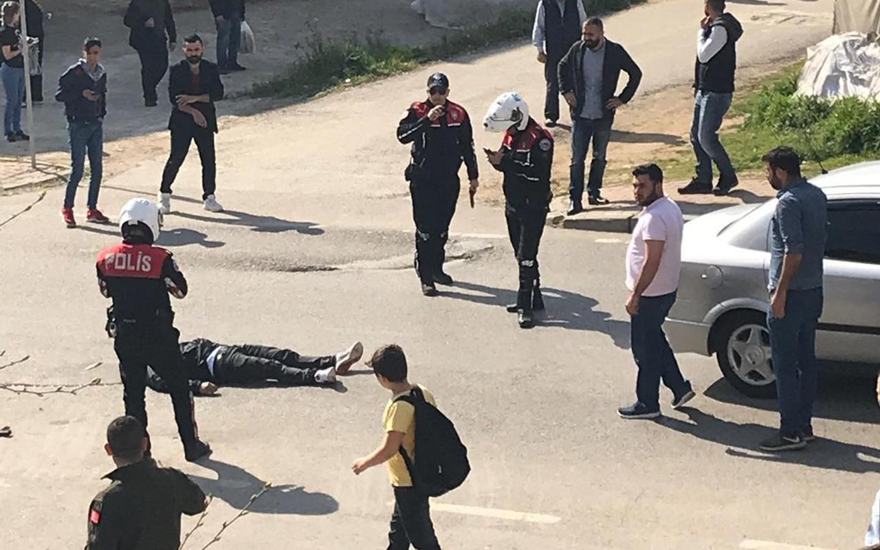 Kocaeli'de aranması olan şahıs polise ateş ederek kaçarken vurularak öldürüldü