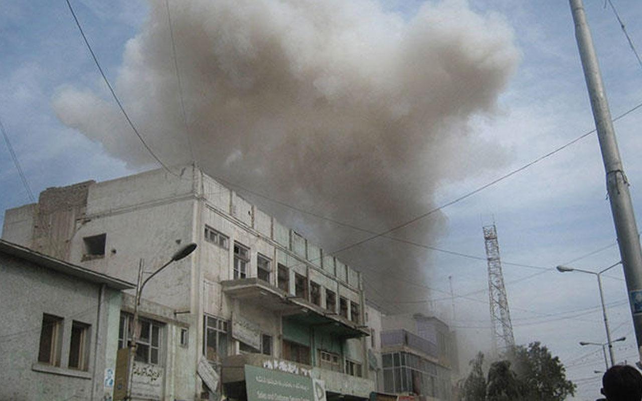 Afganistan'da patlama meydana geldi çok sayıda ölü ve yaralı var