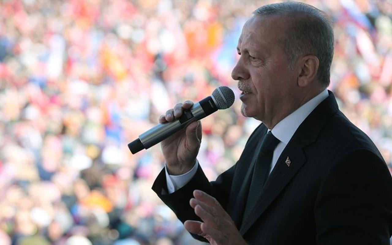 Erdoğan: Kandil'i mezar etmek için seçimden güçlü çıkmalıyız