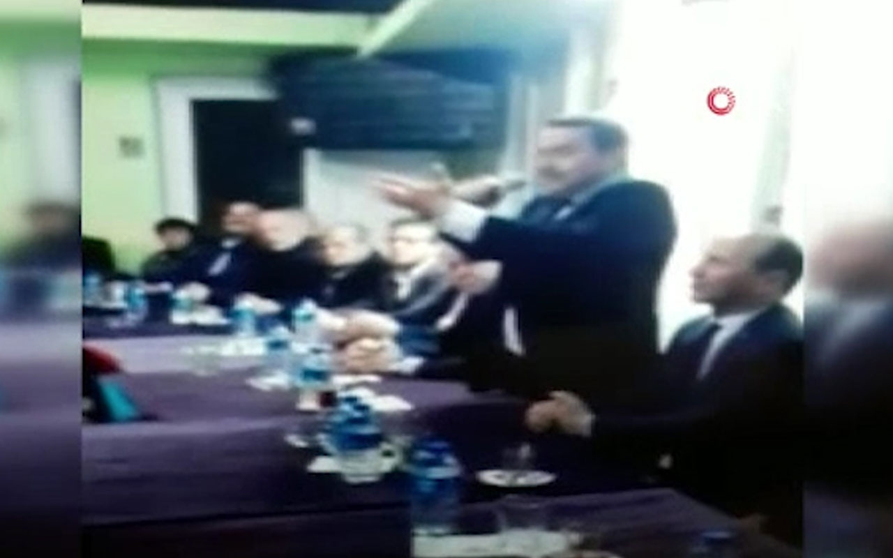 İstiklal Marşı'nı okuyamayan Belediye Başkan Adayı Kemal Emir herkesi şaşırttı