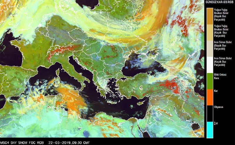 Yarın geliyor Meteoroloji açıkladı pazartesi kadar herşeyi donduracak! - Sayfa 2