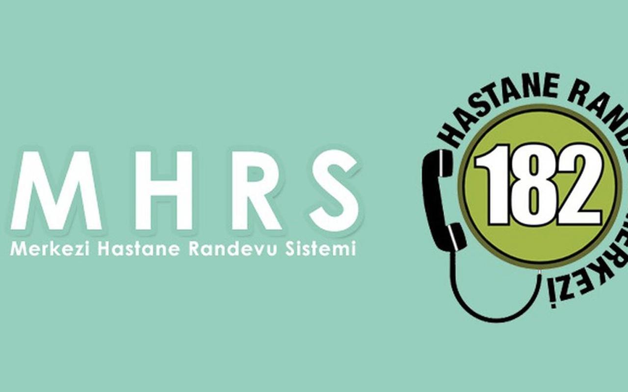MHRS portal kayıt online giriş TC ile randevu alma ekranı