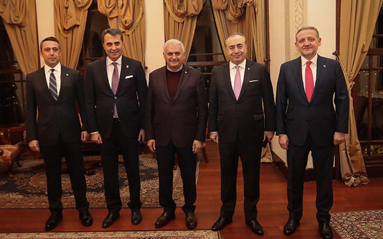 Binali Yıldırım, kulüp başkanlarıyla buluştu