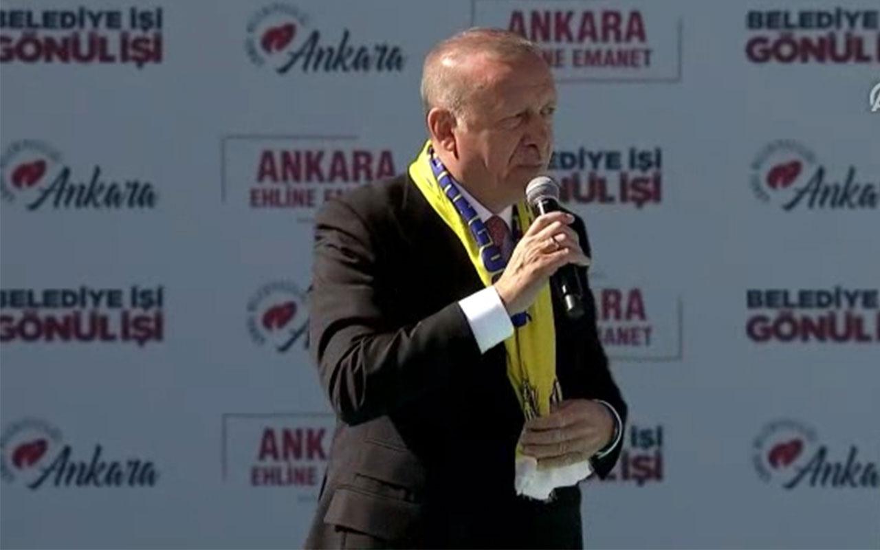 Cumhurbaşkanı Erdoğan:  Bunlara dersi büyük vermek lazım
