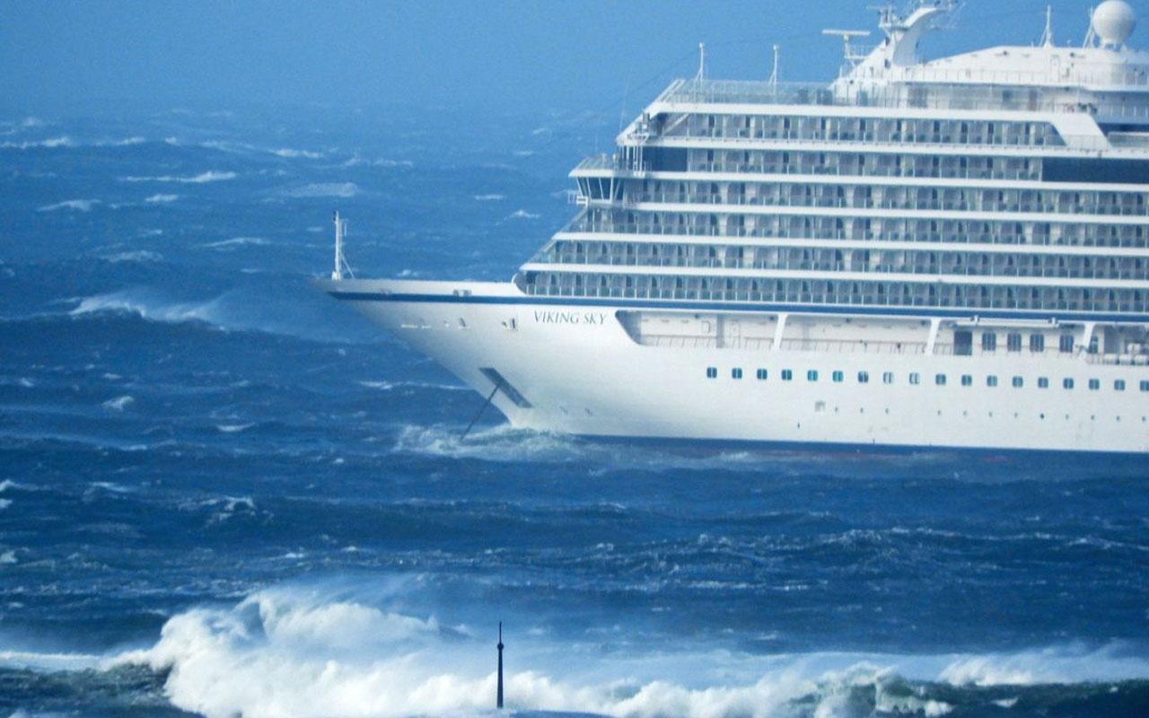 1300 yolculu gemide kırmızı alarm