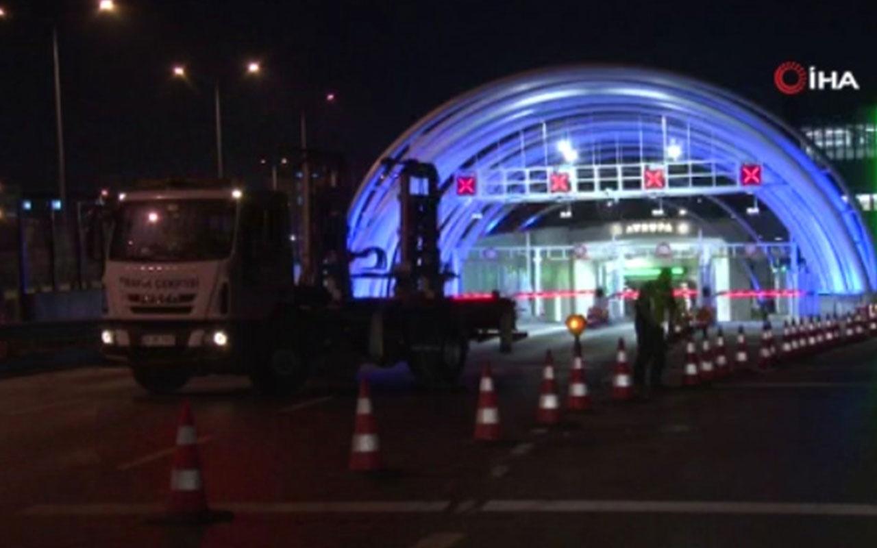 İstanbul'daki Cumhur İttifakı mitingi nedeniyle yollar trafiğe kapatıldı