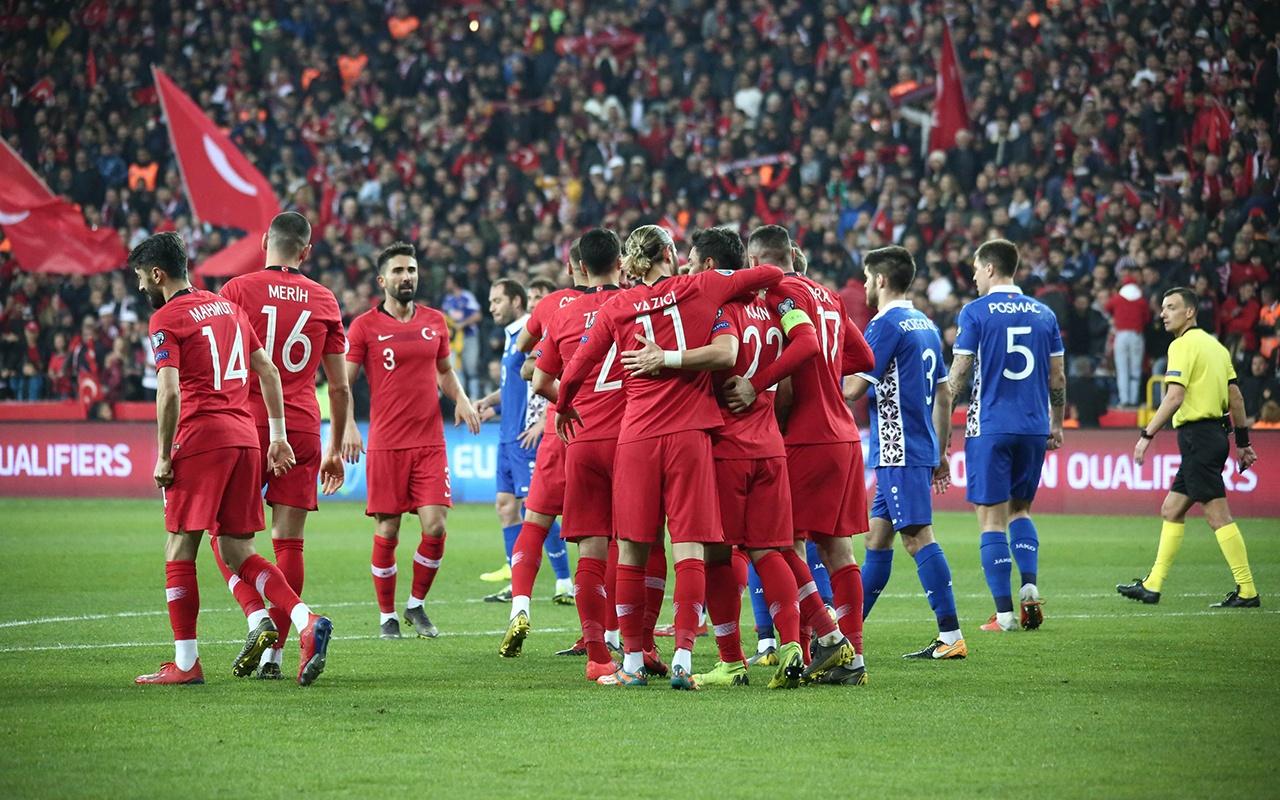 Türkiye Moldova maçı golleri ve geniş özeti