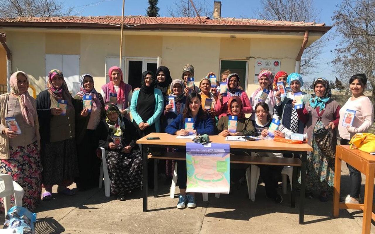 1-31 Mart Kolon Kanseri farkındalık ayı Kilis toplantısı yapıldı
