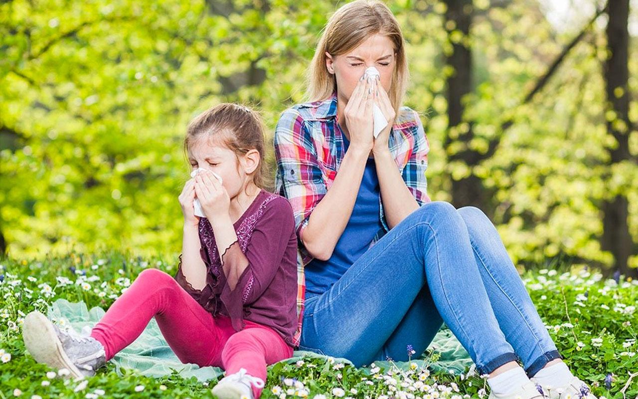 5 basit maddeyle bahar alerjilerinden korunmanın yolları