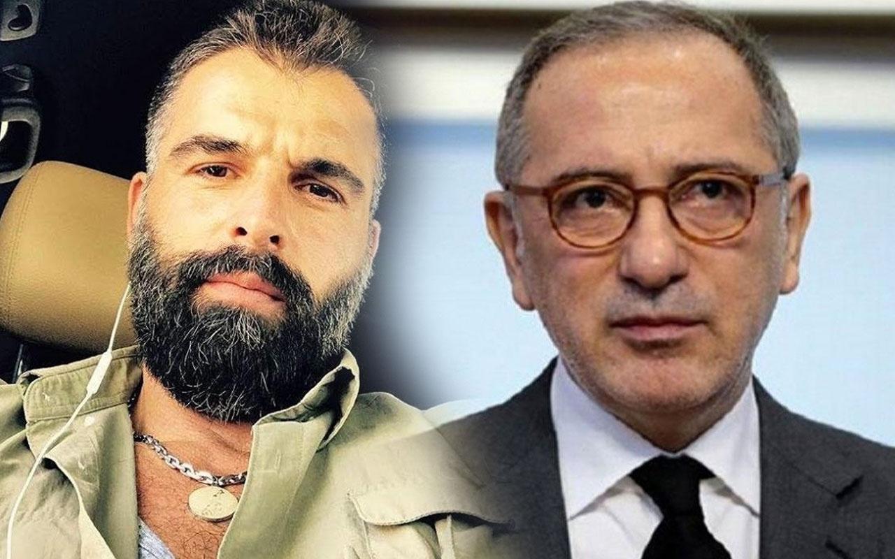 """Mehmet Akif Alakurt'tan Fatih Altaylı'ya olay yanıt """"erkeklik sorunu var"""" demişti"""