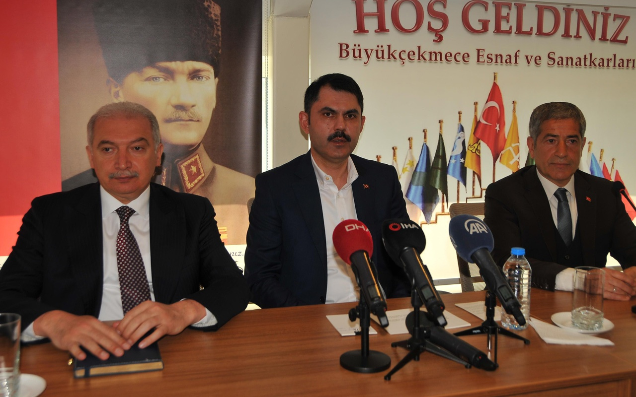 Bakan Murat Kurum açıkladı: Büyükçekmece'ye Millet Parkı ve sosyal konut geliyor
