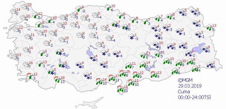Yarından sonra kar geliyor! Meteorolojiden şaşkına çeviren açıklama - Sayfa 3