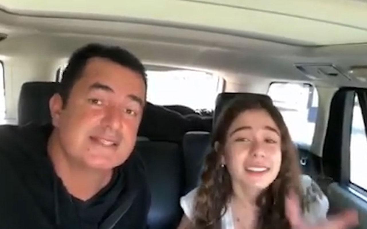 Acun Ilıcalı kızı Leyla ile rap söylerken çektiği videosunu paylaştı