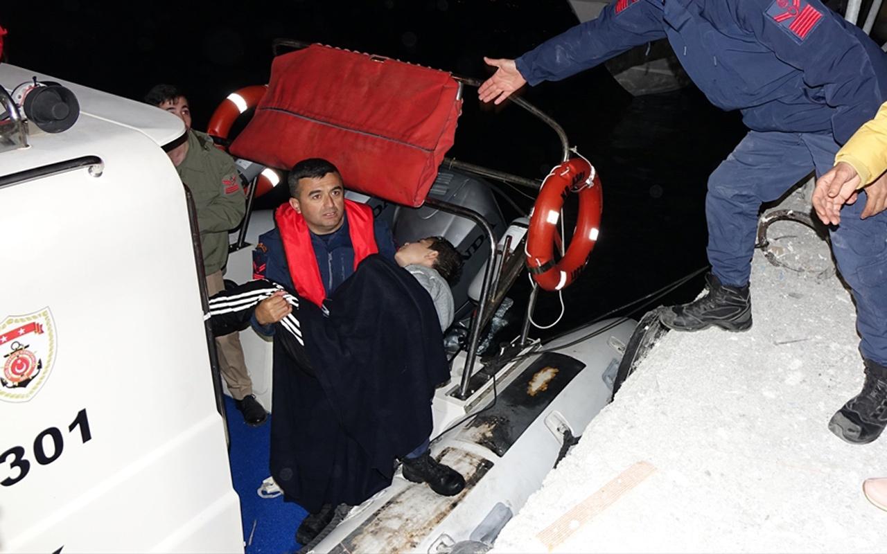 Kuzey Ege'de düzensiz göçmenleri taşıyan tekne battı: 4 ölü