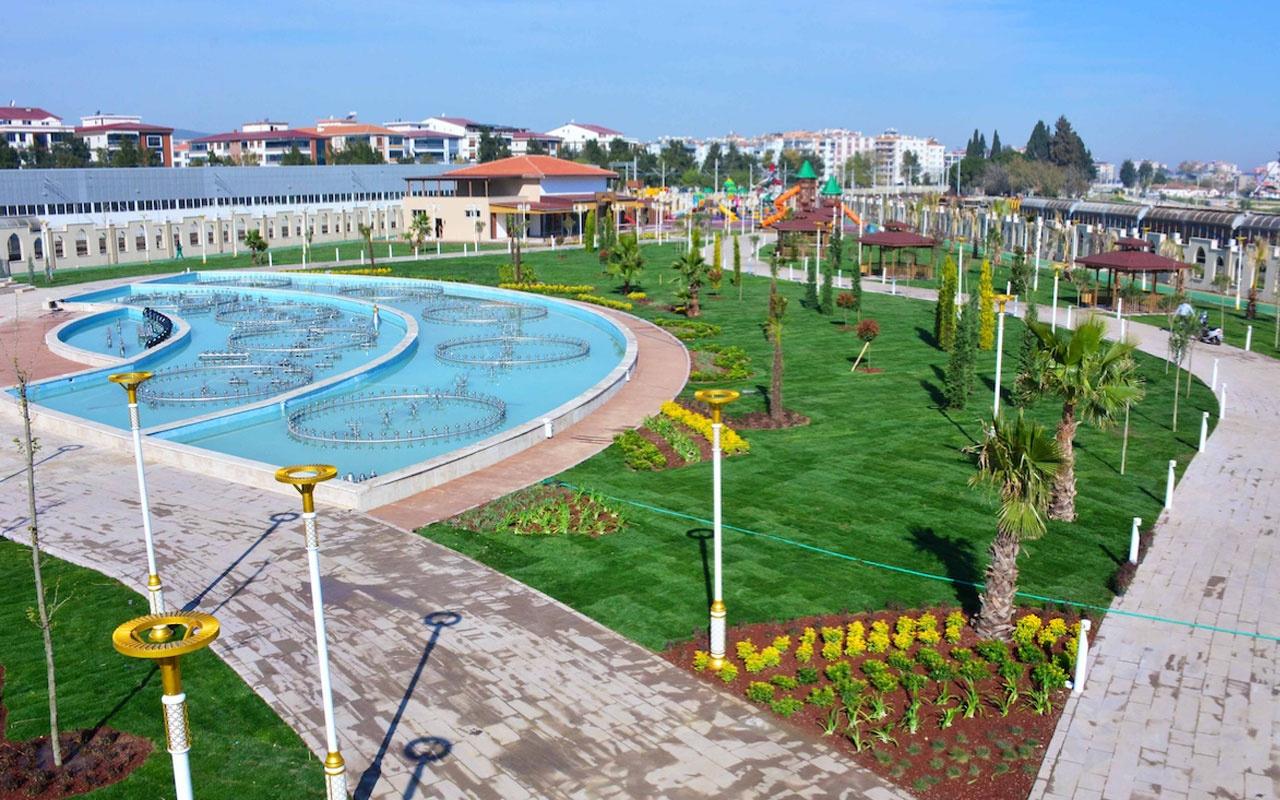 İzmir'in en büyük Millet Bahçesi törensiz açılıyor