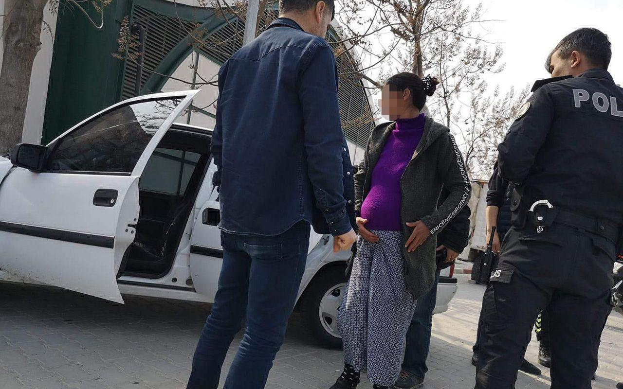 Bursa'da hırsızlık şüphelisi kadının doğum sancıları başladı