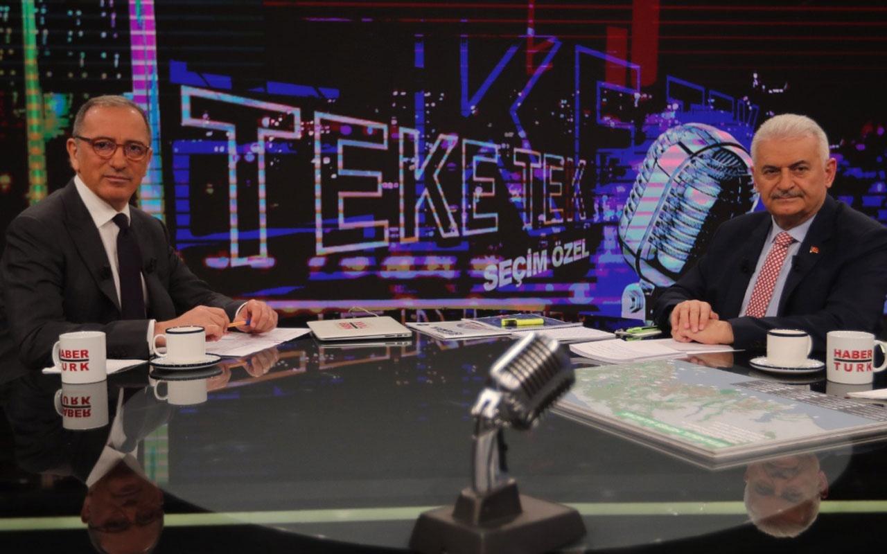 """Binali Yıldırım'dan """"İstanbul'un vergisi yükseltilecek"""" çıkışı!"""