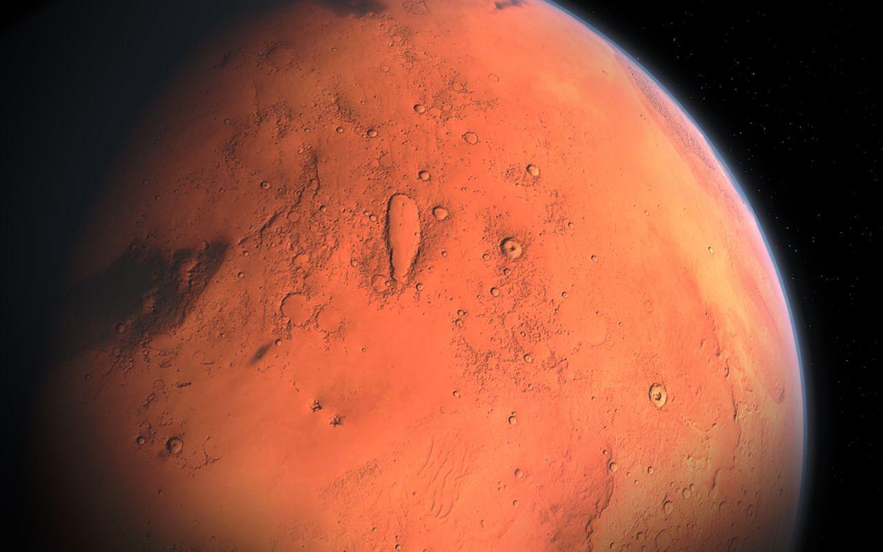 Mars'la ilgili bilim adamlarından tarihi keşif! Meğer büyük nehirler...